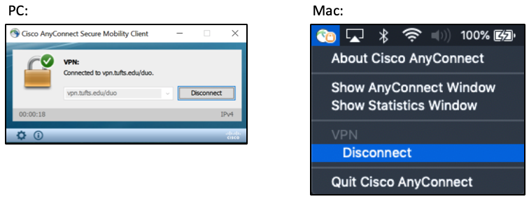 PC and Mac Disconnect