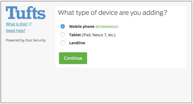 Add a Regular Cell Phone or Smartphone without the Duo App