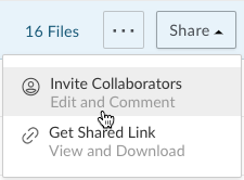 Collaborating on a Folder or File in Box | Technology Services