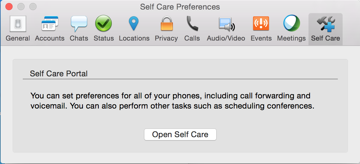 The Self Care Portal | Technology Services